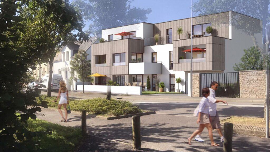 Les Terrasses du Parc / Vannes - CGPA Promotion